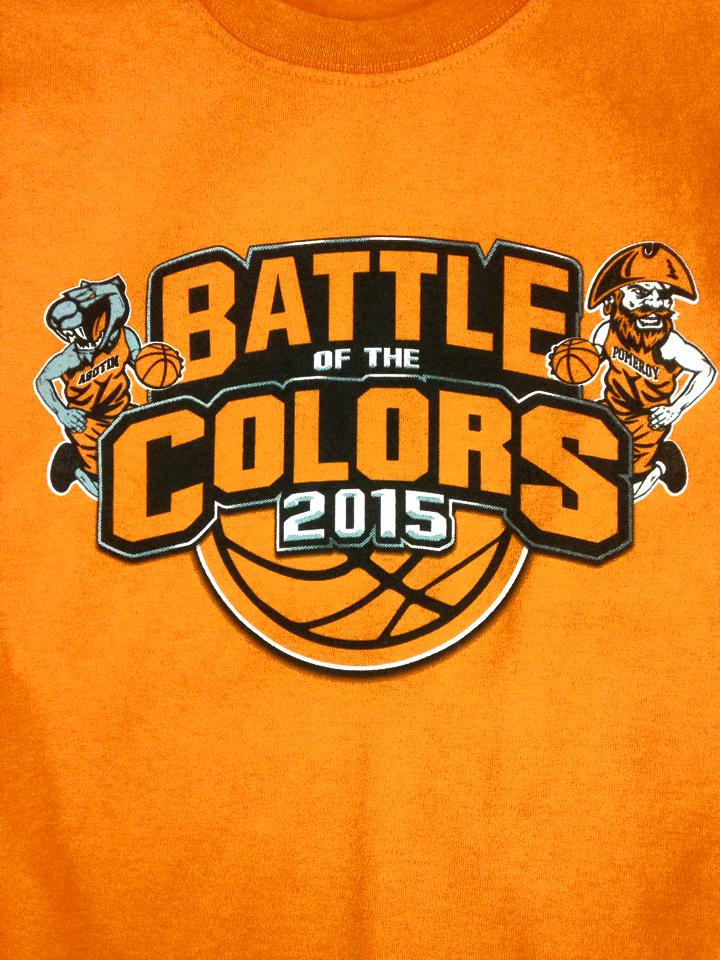 Battle of the Colors 2015 Orange
