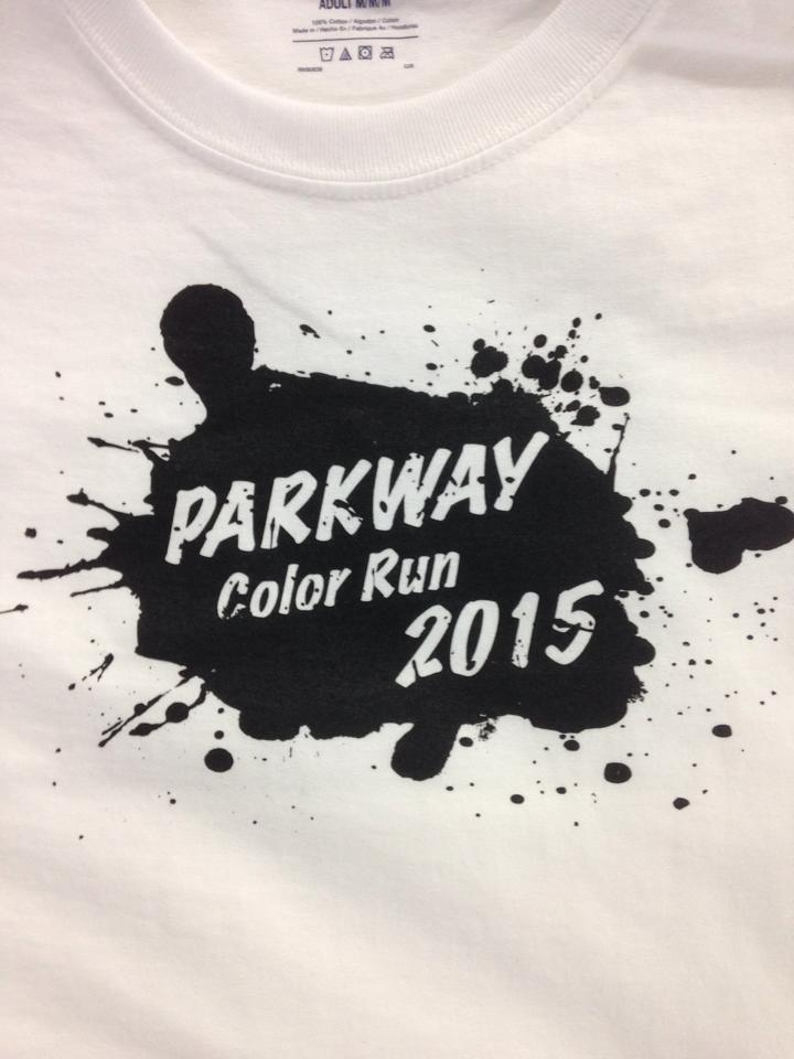 Parkway Color Run 2015