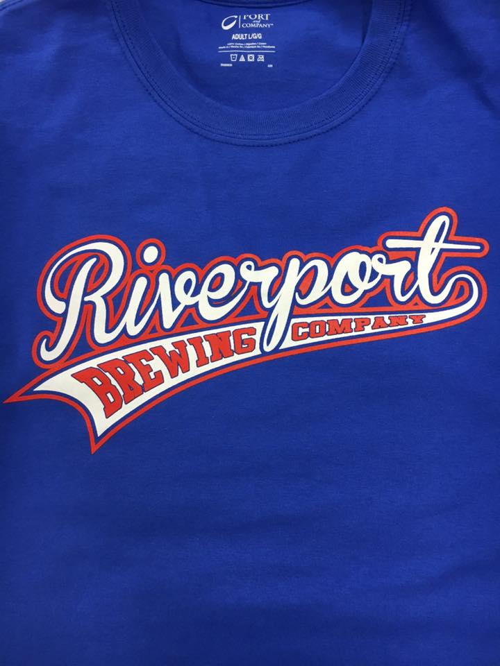 Riverport Brewing Baseball tee