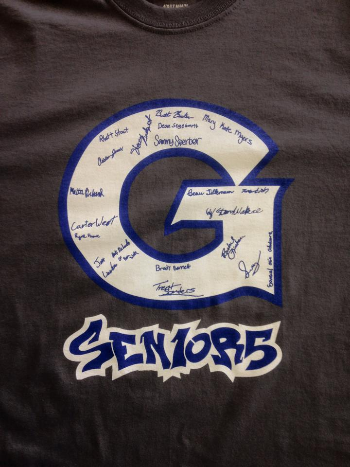 Genesee Seniors (front)