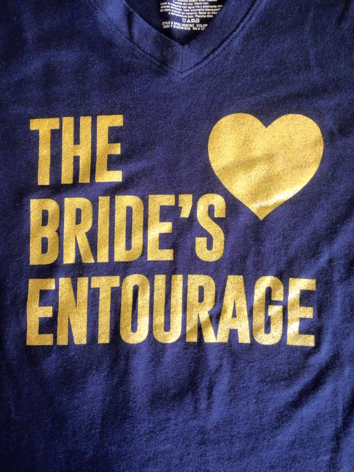 The Brides Entourage