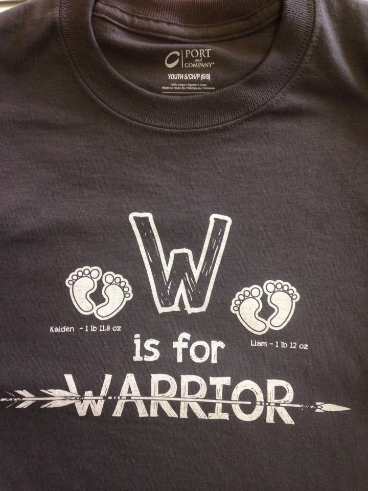 W is for Warrior