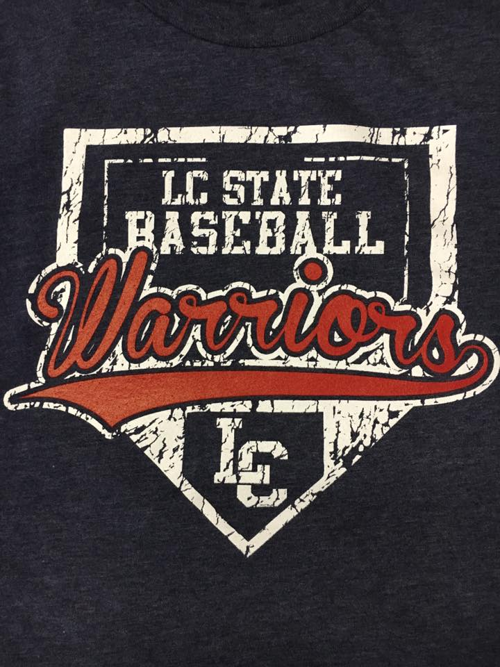 LC State Warriors Home Plate