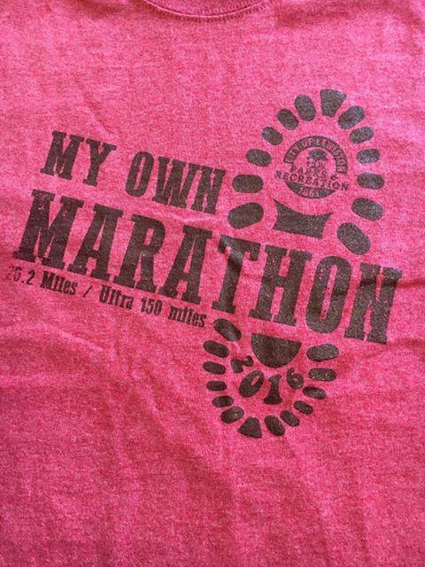 My own marathon