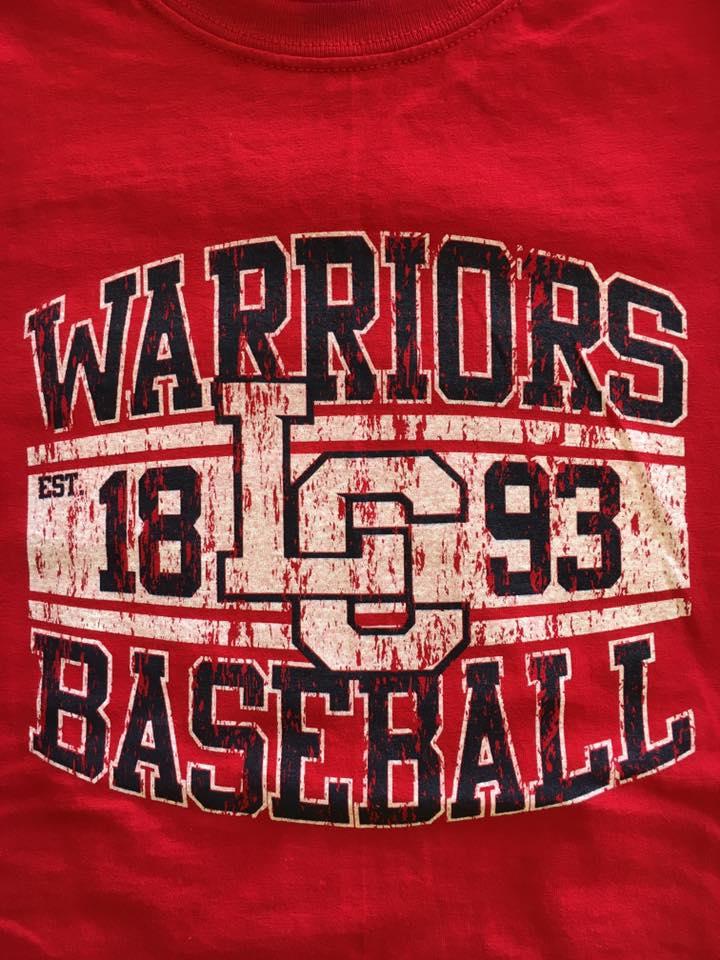 Warriors Baseball Est 1893